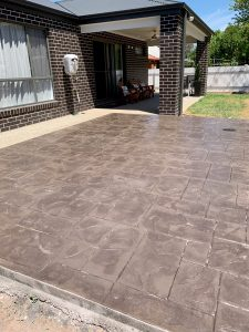 Stamped (decorative) Concrete